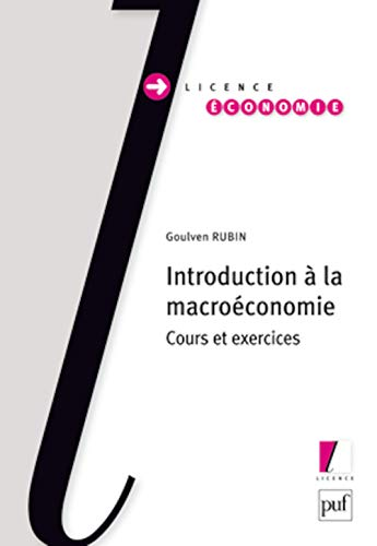 Introduction à la macroéconomie: Rubin, Goulven