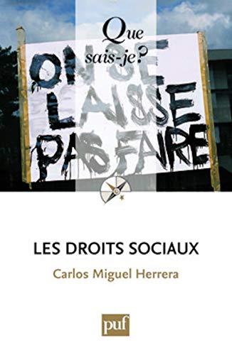 Droits sociaux (Les): Herrera, Carlos Miguel