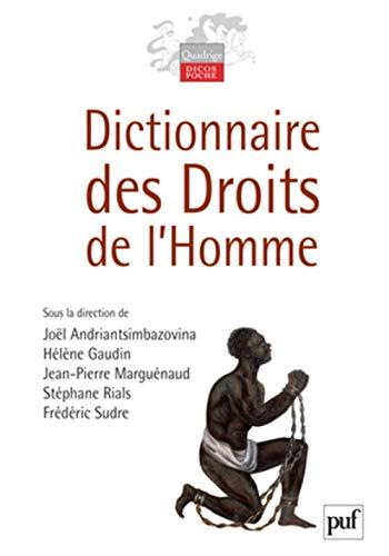 Dictionnaire des droits de l'homme Andriantsimbazovina Joël