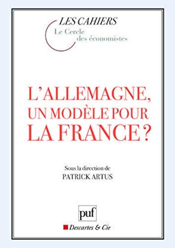 9782130571513: L'Allemagne, un modèle pour la France ?