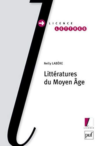 Littératures du Moyen Âge: Nelly Labère