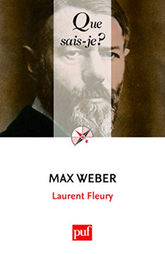 Max Weber (French Edition): Fleury, Laurent