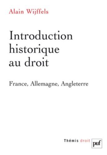9782130574064: Introduction historique au droit
