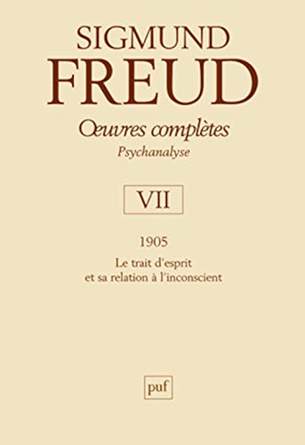 9782130574675: Oeuvres compl�tes - psychanalyse vol. VII : 1905