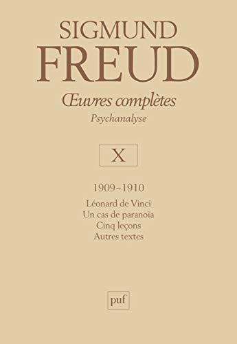 Oeuvres complètes: Sigmund Freud