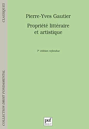 9782130575412: Propriété littéraire et artistique