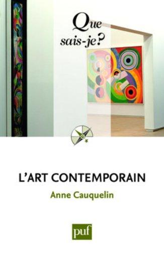 9782130575443: L'art contemporain (French Edition)
