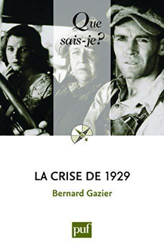 9782130575665: La crise de 1929