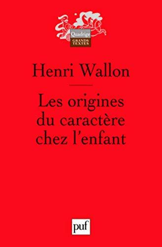9782130576617 Origines Du Caractere Chez Lenfant 6 Ed