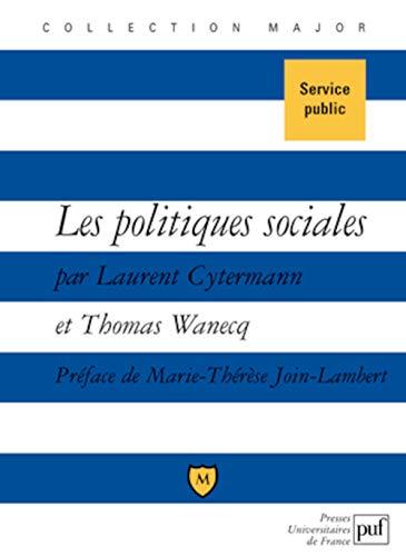 Politiques sociales (Les): Cytermann, Laurent