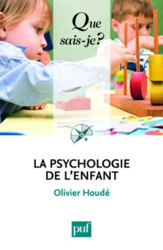 9782130578048: La psychologie de l'enfant