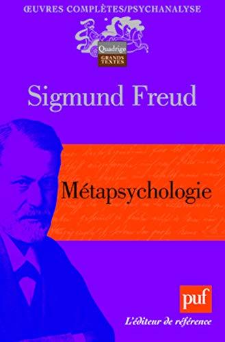 Métapsychologie: Freud, Sigmund
