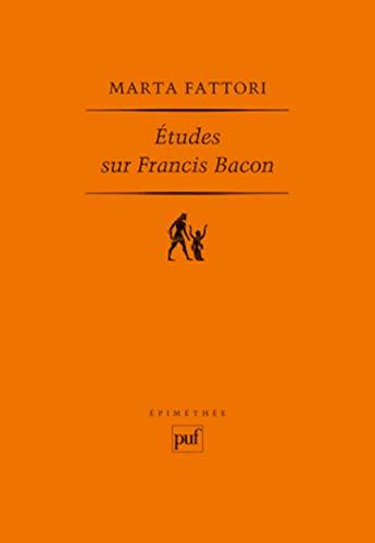 études sur Francis Bacon: Marta Fattori