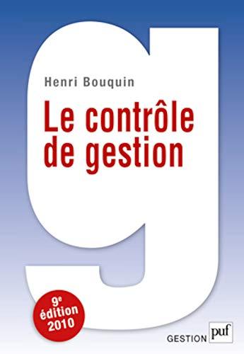 9782130581109: Le contrôle de gestion (French Edition)