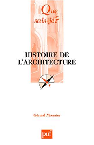 9782130582687: Histoire de l'architecture