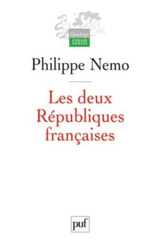 9782130582731: Les deux R�publiques fran�aises
