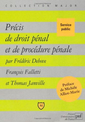 9782130583134: Précis de droit pénal et de procédure pénale