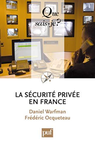 9782130583820: La sécurité privée en France