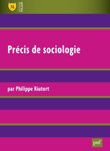 9782130584209: Précis de sociologie (Major)