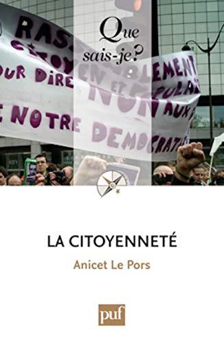 Citoyenneté (La) [nouvelle édition]: Le Pors, Anicet