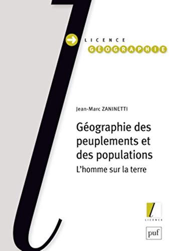 Géographie des peuplements et des populations: Zaninetti, Jean-Marc