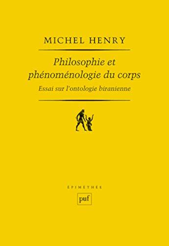 9782130586173: Philosophie et phénoménologie du corps (6ed) (Epiméthée)