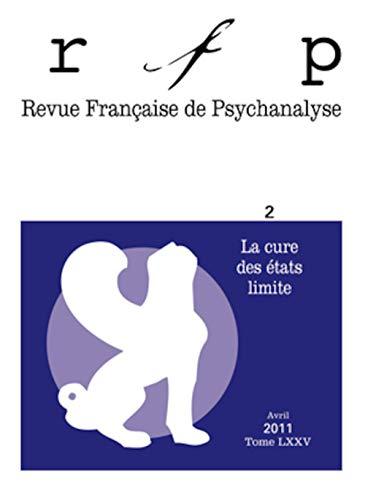 Revue française de psychanalyse 2011 -Tome 75 - N\textdegree 2: Denys Ribas