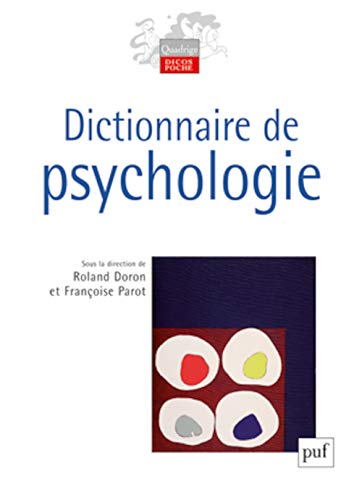 9782130587538: Dictionnaire de psychologie (3ed) (Quadrige Dicos Poche)