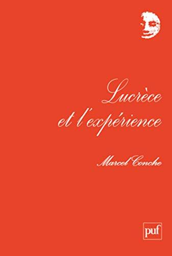 9782130587842: Lucrèce et l'expérience
