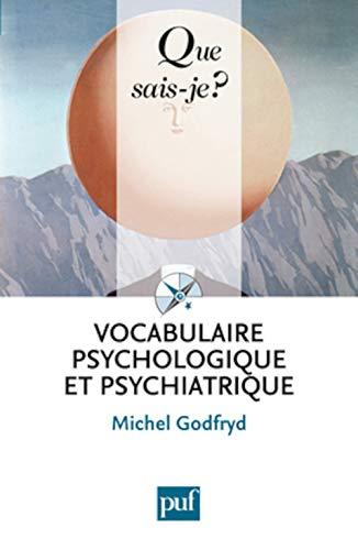 9782130588382: Vocabulaire psychologique et psychiatrique
