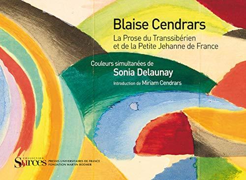 9782130588535: La Prose du Transsibérien et de la Petite Jehanne de France - Introduction de Miriam Cendrars