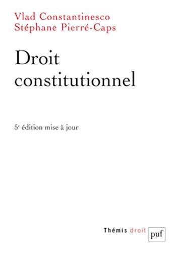 9782130589761: Droit constitutionnel