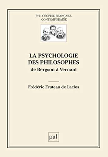 la psychologie des philosophes: Frédéric Fruteau de Laclos
