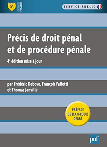 9782130591290: Précis de droit pénal et de procédure pénale - Préface de Jean-Louis Debré