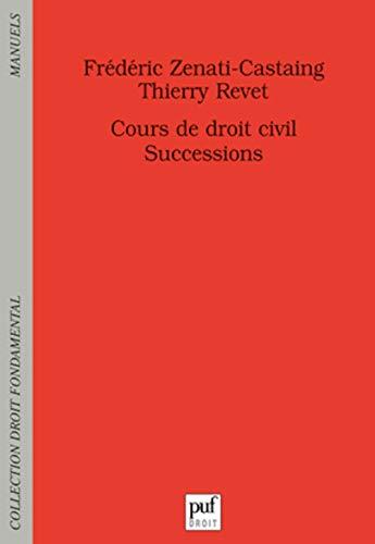 9782130591313: les successions ; cours de droit civil