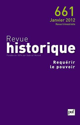 Revue historique 2012 - N° 661 -