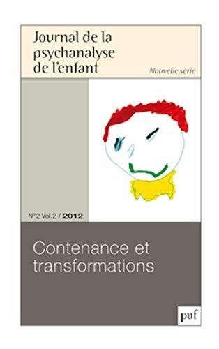 Journal de la psychanalyse de l'enfant. N°