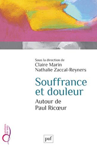 9782130607229: Souffrance et douleur. Autour de Paul Ricoeur