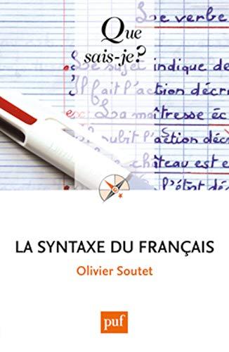 9782130607410: La syntaxe du français