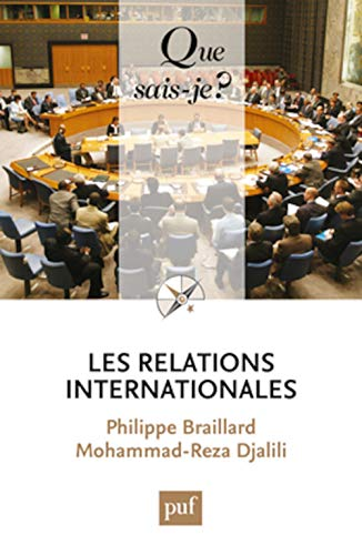 Les relations internationales: Philippe Braillard, Mohammad-Reza