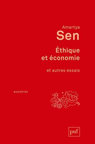 Ethique et économie [nouvelle édition]: Sen, Amartya