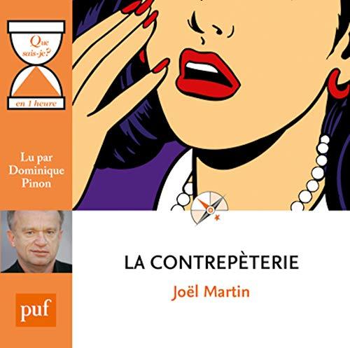 Contrepèterie (La): Martin, Jo�l