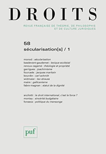Droits, no 58: Collectif