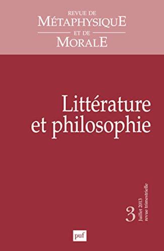 Revue métaphysique et morale 2013, no 03: Collectif