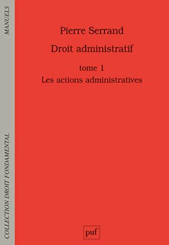 Droit administratif, t. 01: Serrand, Pierre