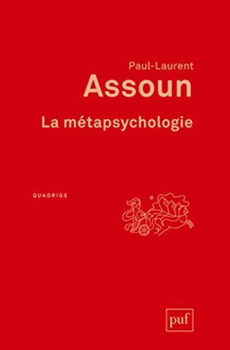 9782130621249: La métapsychologie