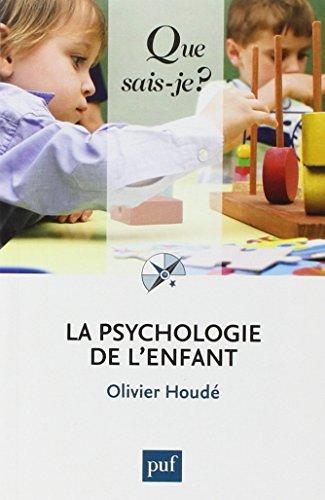 9782130624615: La psychologie de l'enfant