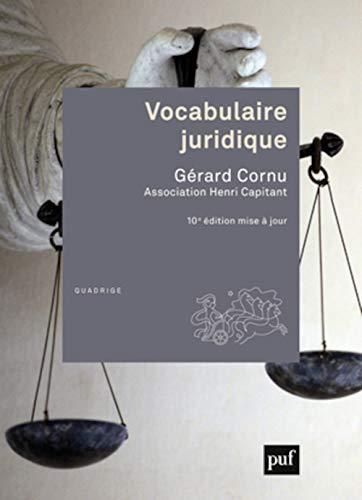 9782130624639: Vocabulaire juridique (10e édition)