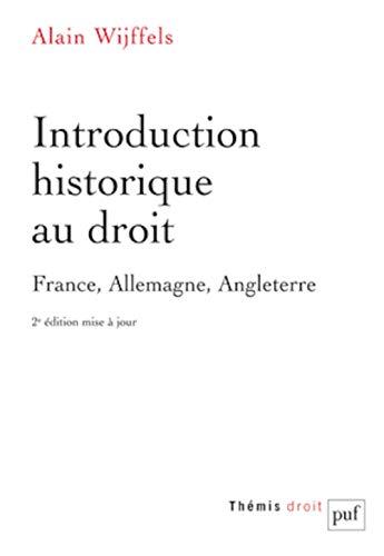 9782130624967: Introduction historique au droit