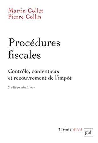 Procédures fiscales: Pierre Collin
